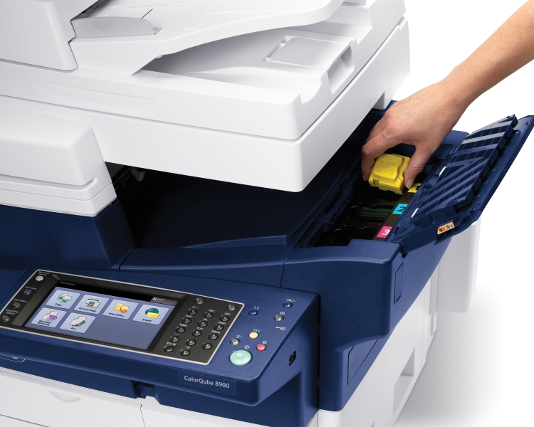 Showcasing The Cartridge Free ColorQube 8900 With Solid